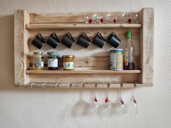 Holzpaletten Regal Interessant On Andere Auf 1001 Ideen Für DIY Möbel Aus Europaletten Freshideen 1