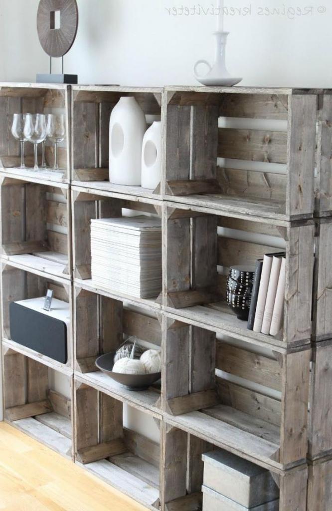 Holzpaletten Regal Unglaublich On Andere Auf Wohndesign 7