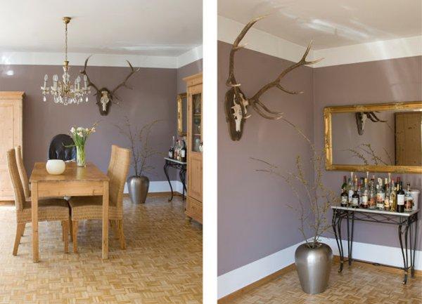 Innendekoration Farbe Wände Frisch On Andere Mit Ausgezeichnet Wnde Esszimmer Wandfarbe Taupe 3