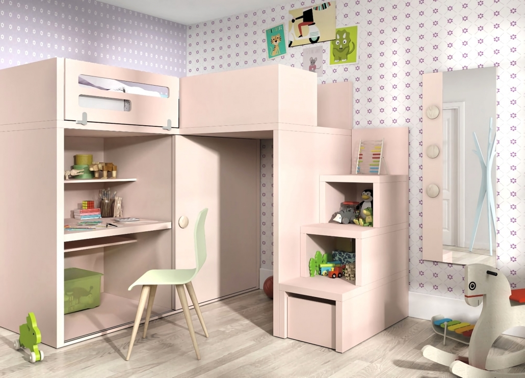 Jugendzimmer Mädchen Hochbett Fein On Andere Auf Dekorationen Faszinierend Jugend Zimmer 2