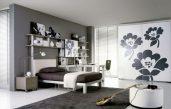 Jugendzimmer Schwarz Weiß