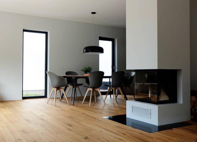 Kamin Esszimmer Interessant On Andere Und Haus B Raumteiler Zwischen Wohn Essbereich 2