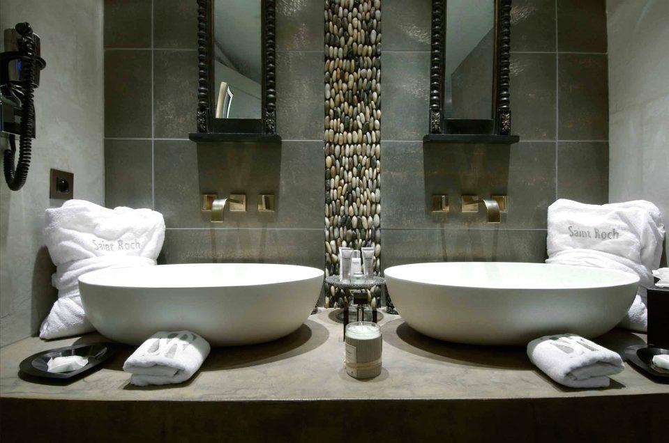 Kieselsteine Im Bad Herrlich On Andere überall Uncategorized Geraumiges Bodenbelag Badezimmer Mit Tolles 4