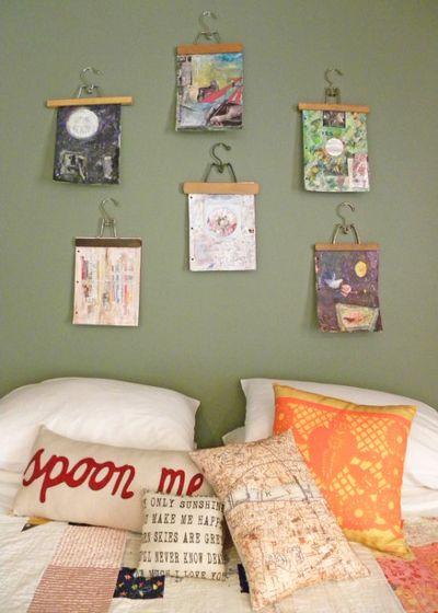 Kinderbilder Aufhängen Interessant On Andere Für Kinderkunst Gehört An Die Wand So Kreativ Kann Man 3