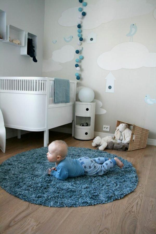 Kinderzimmer Junge Baby Charmant On Andere Mit Haus Möbel Babyzimmer Jungen Muster Auf 9