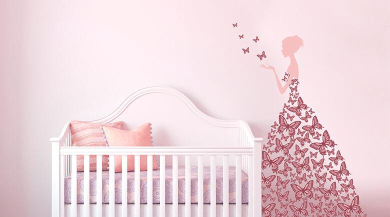 Kinderzimmer Mädchen Frisch On Andere Für Wandtattoos Wall Art De 4