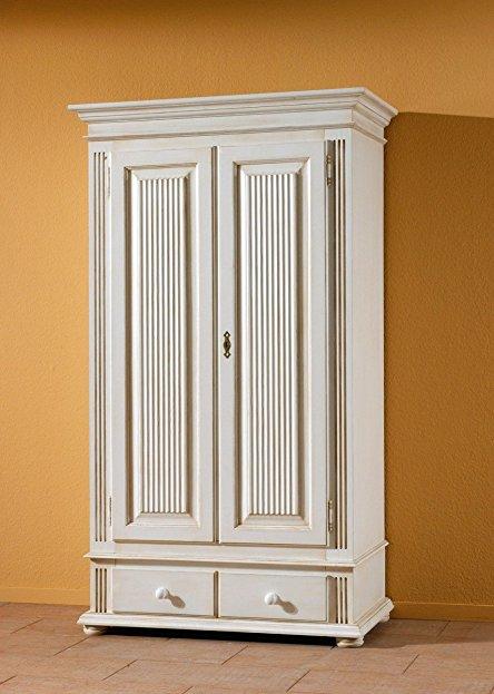 Kleiderschrank Massivholz Antik Weiß Beeindruckend On Andere überall Dreams4Home Dielenschrank Gordes Flur Schrank 4