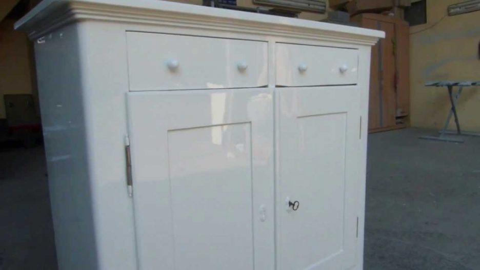 Kleiderschrank Massivholz Antik Weiß Großartig On Andere In Full Size Of Khle Dekoration 6