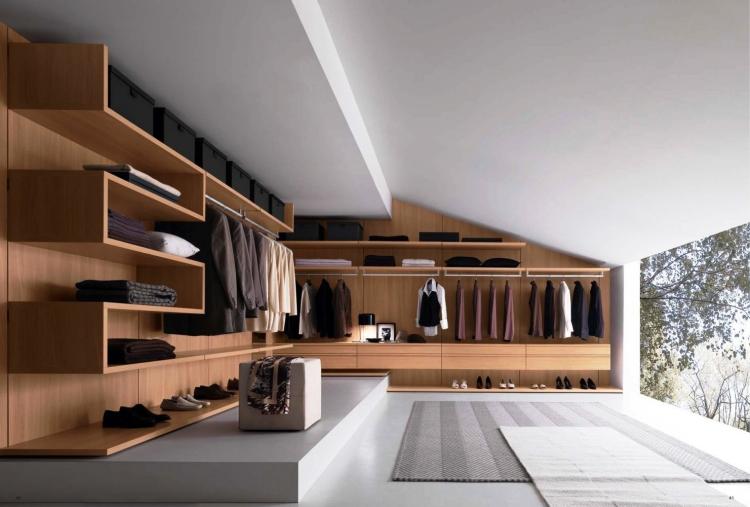 Kleiderschrank Selber Bauen Holz Modern On Andere Mit Schrank Schräge 3