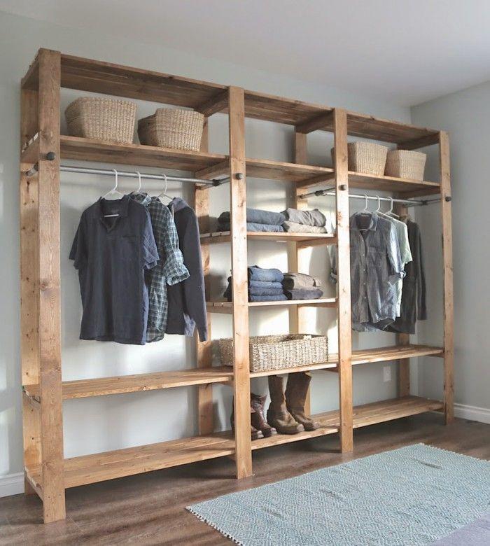 Kleiderschrank Selber Bauen Holz