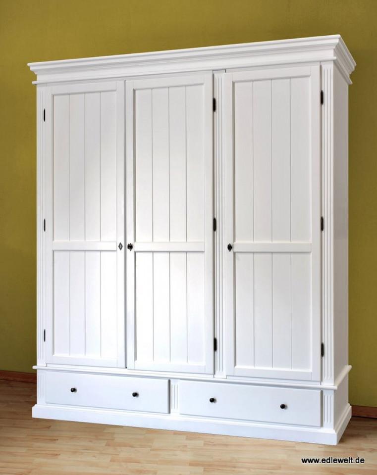 Kleiderschrank Weiß Landhaus Erstaunlich On Andere Für SUSAN Pinie Kreutz Shop 4