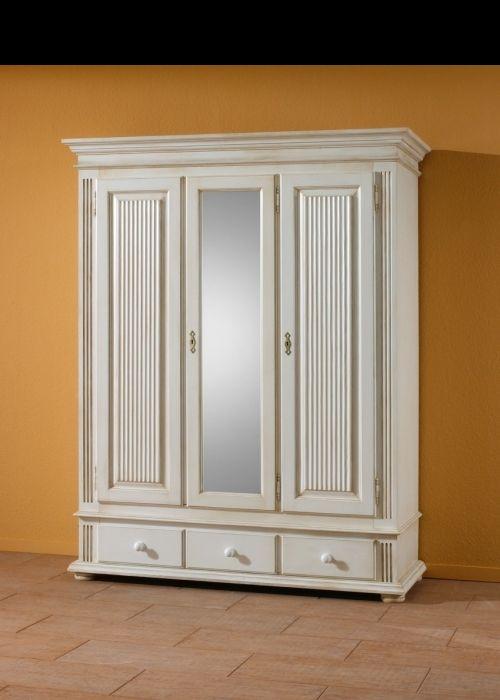 Kleiderschrank Weiß Landhaus Nett On Andere Innerhalb Couch Center Online Versandhandel Dielenschrank 5