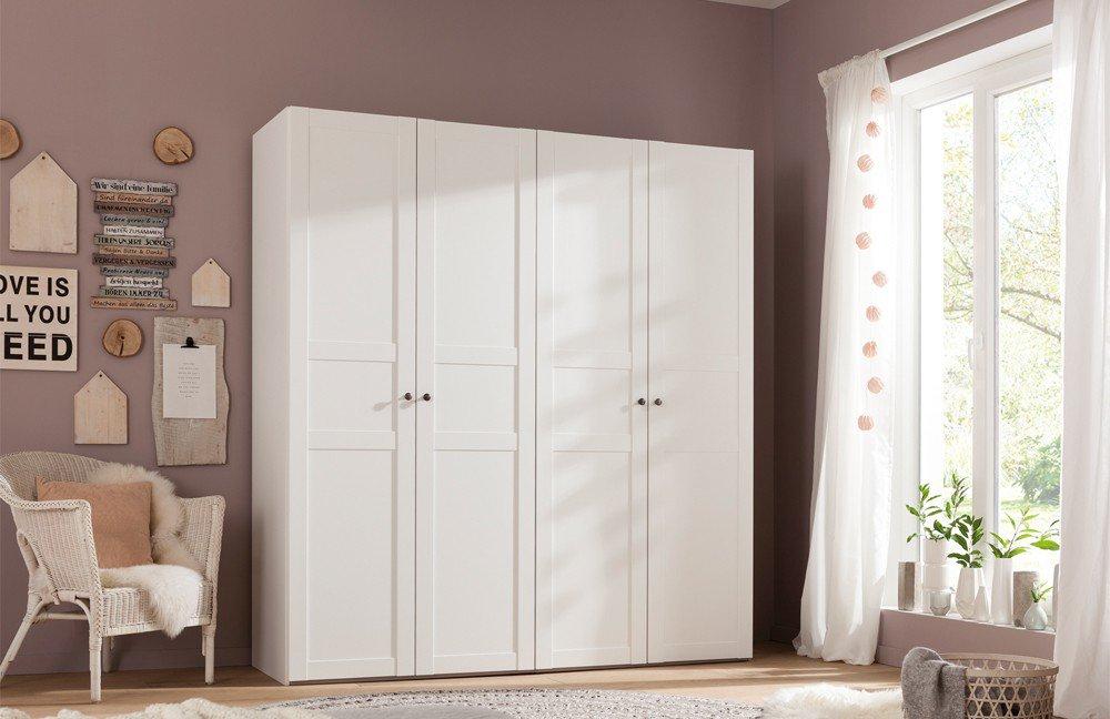 Kleiderschrank Weiß Landhaus Perfekt On Andere Beabsichtigt Express Brooklyn Schrank Möbel Letz Ihr Online Shop 9