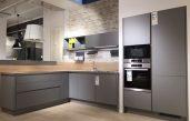 Küche Grau Matt