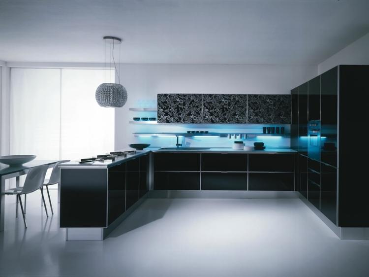 Küche Hochglanz Luxus Ausgezeichnet On Andere Auf Valuable Kuche For Innen Und Aussen Architektur 8