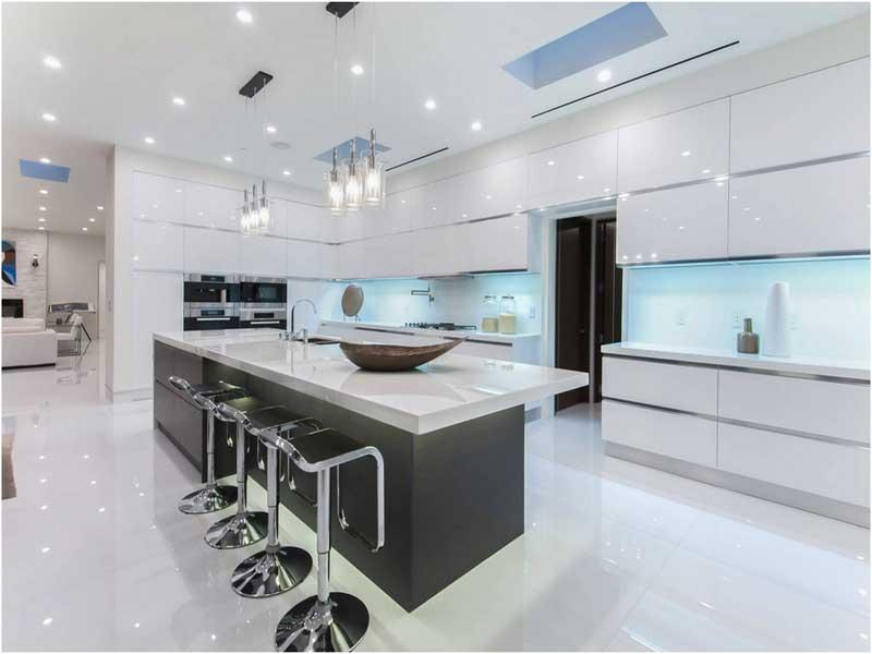 Küche Hochglanz Luxus Wunderbar On Andere In 10 Beste Luxusküchen Design Ideen 9