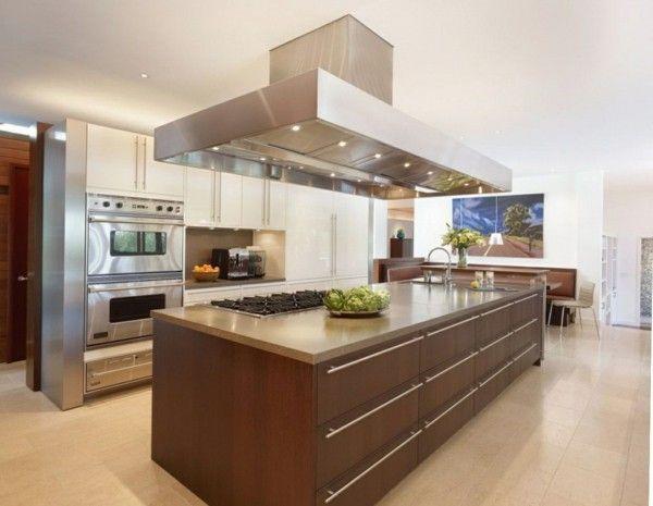 Küche Kochinsel Charmant On Andere Beabsichtigt Mit In Minimalistischem Stil Kitchen Pinterest 2
