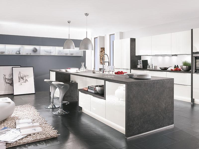 Küche Kochinsel Kreativ On Andere Für Kuche Mit Insel Fur Endet Schön Moderne Per 6