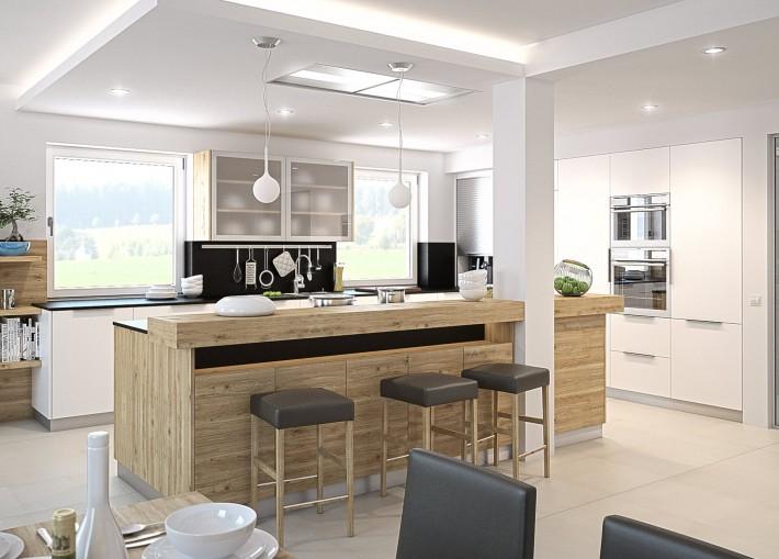 Küche Mit Essbereich Herrlich On Andere Für Offene Kuche Übernehmen Kleines Wohnzimmer 8