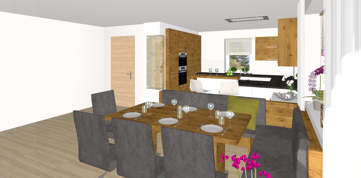 Küche Mit Essbereich Kreativ On Andere überall In Perg Tischlerei Kastner 6