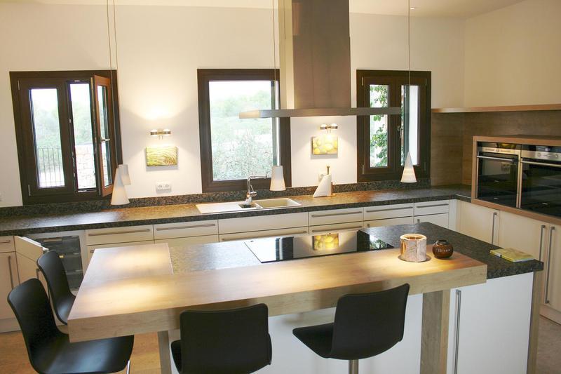 Küche Mit Essbereich Modern On Andere Auf Finca Und Meer Fotos 5