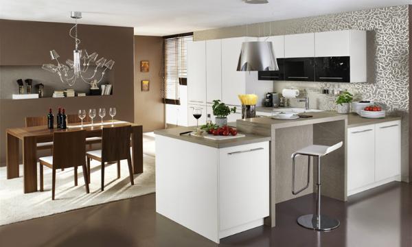 Küche Mit Essbereich Perfekt On Andere überall Offene Esszimmer Tipps Infos Kaufempfehlung 9