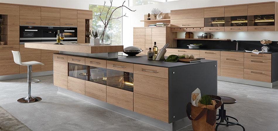 Küche Mit Kochinsel Und Theke Ausgezeichnet On Andere Kücheninseln Zentrum Moderner Wohnküchen Möbel Kraft 8