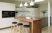 Küche Mit Theke