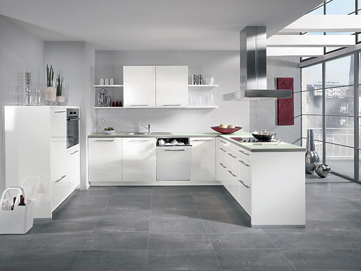 Küche Weiß Hochglanz Erstaunlich On Andere In Bezug Auf Phänomenale Ideen Weisse Und Tolle Frische Haus 9