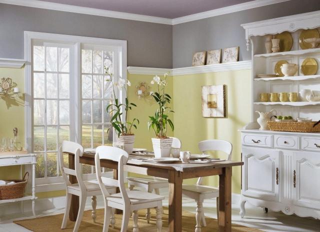Küchen Wandfarben Beispiele Einfach On Andere Innerhalb Welche Wandfarbe Für Küche 55 Gute Ideen Und 4