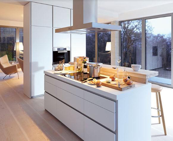 Küchenbeispiele Mit Kochinsel Holz Kreativ On Andere Für Moderne In Der Küche 71 Perfekte Design Ideen 3