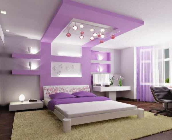 Lila Dachschräge Charmant On Andere In Bezug Auf Fein Für Luxus Schlafzimmer 1