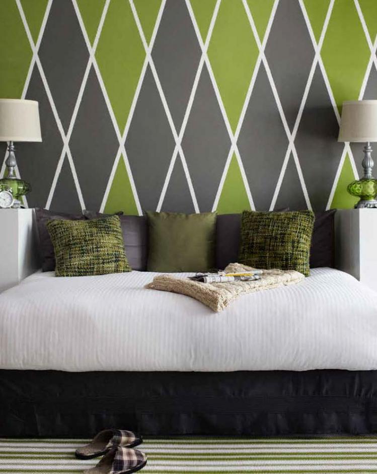 Lila Goldene Wand Streichen Großartig On Andere Für Innenarchitektur Ehrfürchtiges Mit Muster Ideen Khles 4