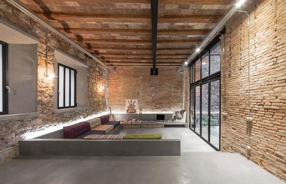 Loft Stil Beeindruckend On Andere In Bezug Auf Hausbau Pinterest Lofts Living Rooms And Room 3