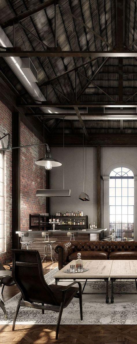 Loft Stil Charmant On Andere In Bezug Auf Industrial Vintage Wohnhaus Masculine 4
