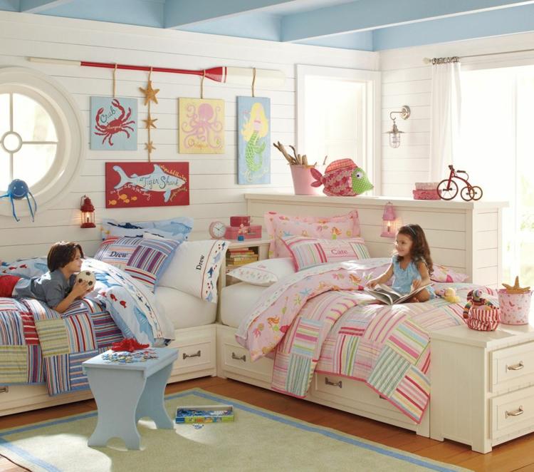 Mädche Und Junges In Ein Zimmer Einrichten Unglaublich On Andere Beabsichtigt Kinderzimmer Für Zwei Gestalten 15 Interessante 5