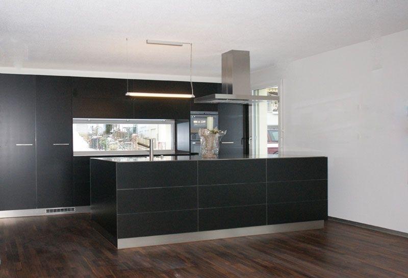 Matt Schwarze Küchen Einfach On Andere überall Struktur 4 Amocasio 2