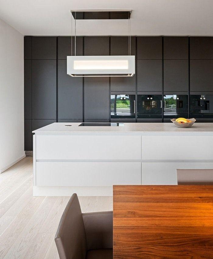 Matt Schwarze Küchen Erstaunlich On Andere überall Küchenblock Mit Integriertem Stauraum Und Geräte Schwarz 8
