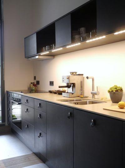 Matt Schwarze Küchen Modern On Andere Auf Küche 21