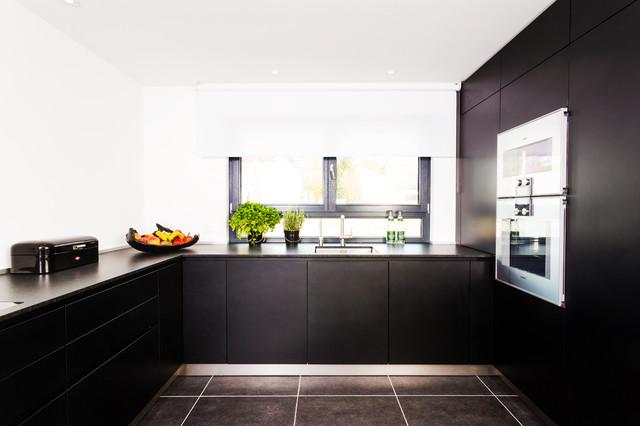 Matt Schwarze Küchen Schön On Andere In Bezug Auf Küche 21 Elegante Design Ideen 1