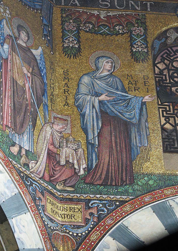 Mosaik Flie Einzigartig On Andere Innerhalb File Karl Der Große Jpg Wikimedia Commons 7
