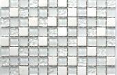 Mosaikfliesen Weiß