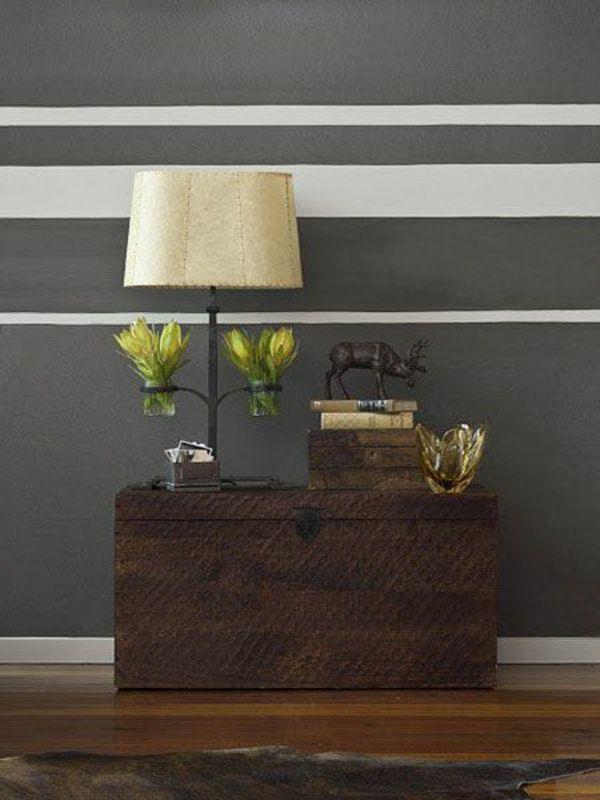 Muster An Der Wand Malen Bescheiden On Andere Mit Beispiel Streichen Wohndesign 8