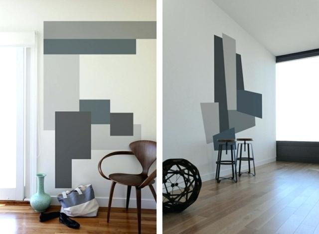 Muster An Der Wand Malen Fein On Andere Für Selber Ideen Teetoz In 4
