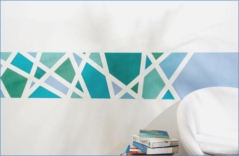Muster An Der Wand Malen