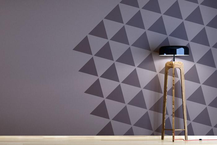 Muster An Der Wand Malen Zeitgenössisch On Andere Auf Zweifarbige Wände Ideen Zum Streichen Tapezieren Gestalten 9