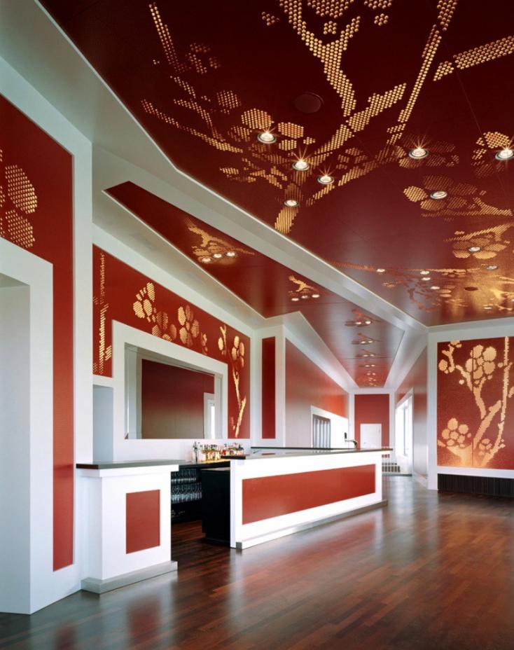 Muster Deckengestaltung Modern On Andere Beabsichtigt Geräumiges Wohndesign Bad 9