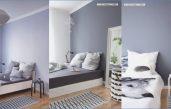 Muster Zimmer Mit Weißen Wänden