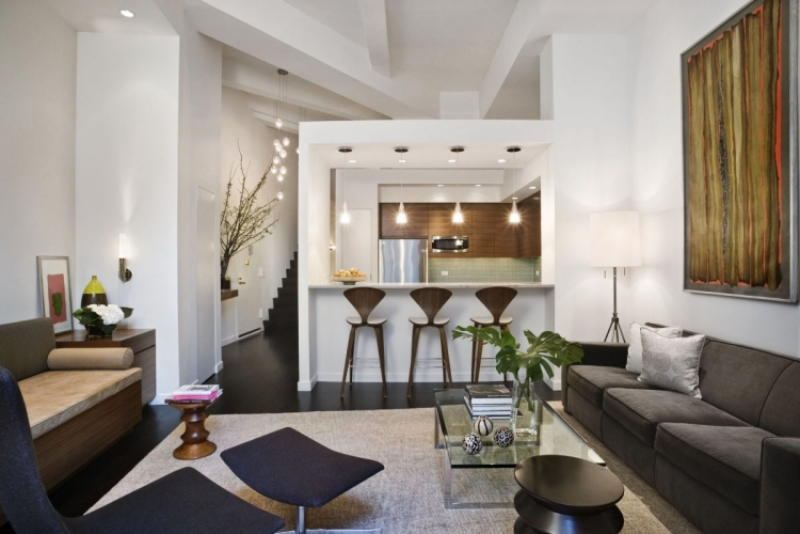 Offene Küche Mit Theke Imposing On Andere Auf Wohnzimmer Pro Contra Und 50 Ideen 4