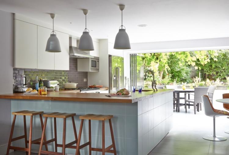 Offene Küche Mit Theke Stilvoll On Andere Beabsichtigt Küchen Ideen 2015 8 Beispiele Für Gestaltung 7